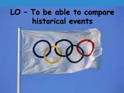 Comparing London Olympics