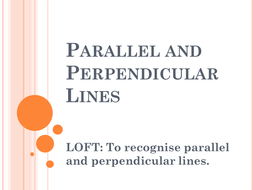 parallel and perpendicular lines year 5 by robertbrucemiddleschool