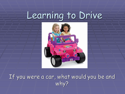learning to drive powerpoint.ppt