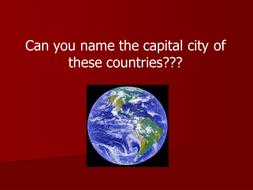 Capital Cities Quiz.ppt