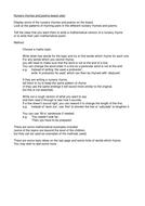 Write a mathematical nursery rhyme or poem