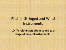 Pitch in Stringed and Wind Instruments.pptx
