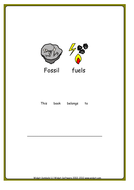 Fossil Fuels booklet