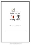 Measuring and reading scales booklet