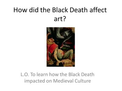 Cultural Effects of The Black Plague - plaza.ufl.edu