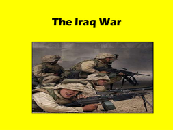 The causes of the Iraq War