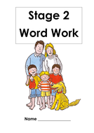ORT Stage 1 - Stage 5 Word Workbooks
