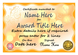 all kinds of editable certificates by primaryclass teaching