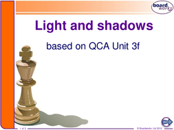 Light and Shadows from Board Works by ksb | Teaching Resources