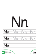 Letter Formation – The Letter N by TES_ABC | Teaching Resources