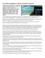 Is a Twitter clampdown a threat to freedom of speech.docx