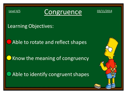 PowerPoint Introducing Congruence