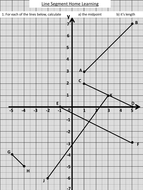 Midpoint and length of a line segment by dannytheref