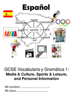 GCSE Spanish Vocabulary & Grammar Guides