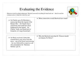 Differentiated Evaluating the Evidence.docx