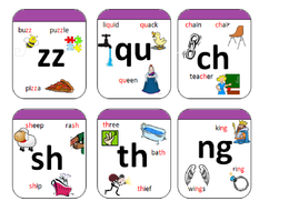 phase 3 phonics letters and sounds sound cards