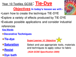 Tie dye powerpoint by rachelowell teaching resources tes tie dye powerpoint ccuart Image collections