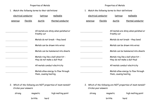 Atoms Elements And Compounds Worksheet Ks3 Proga Info