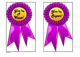 rosette words of praises and appreciation