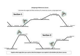 Designing a Motocross Course - Calculating Angles