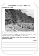 Limestone properties AFL task