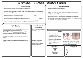 gcse aqa revision sheets by pikey1 teaching resources tes. Black Bedroom Furniture Sets. Home Design Ideas