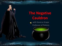 Negative Numbers Cauldron (with Severus Snape)