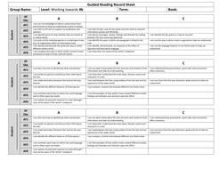 Guided Reading Record Sheet Towards 4b.docx