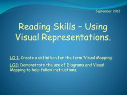Reading Skills - Using Visual Representations