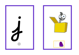 Cursive Phase 3 flashcards linked to Jolly Phonics by ...