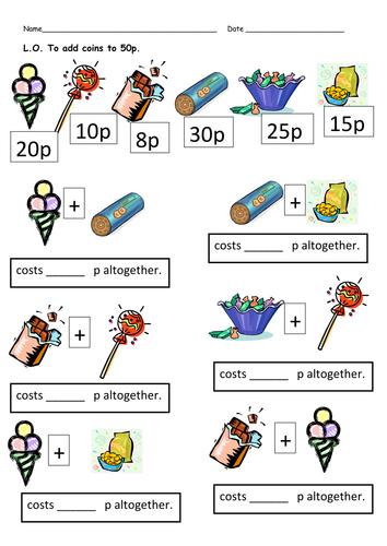 Pre School Worksheets : counting money worksheet eyfs Counting ...