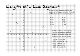 Calculating The Length of a Line Segment by taylorda01