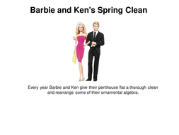 Barbie and Ken's Spring Clean.pptx