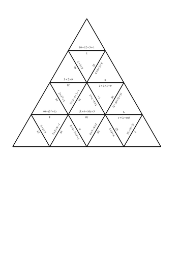 order of operations test pdf
