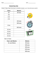 Converting units of time