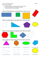 Recognising 2D Shapes