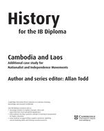 Cambridge IB History: Cambodia & Laos - Resources