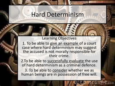 Free will and determinism essay