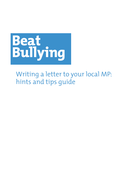 Write a letter to your local mp by beatbullying teaching resources write a letter to your local mp hints and tips guidepdf expocarfo Choice Image