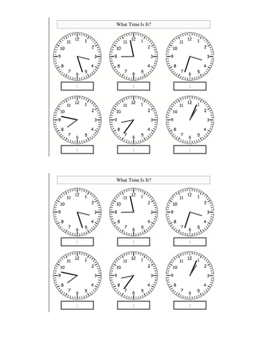 Time by philsha - Teaching Resources - TES