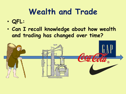Wealth and trade revision