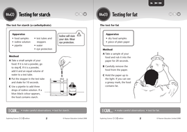 Testing for starch and fat.pdf