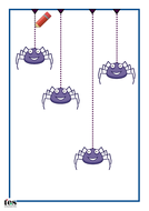Draw the spider strings.pdf