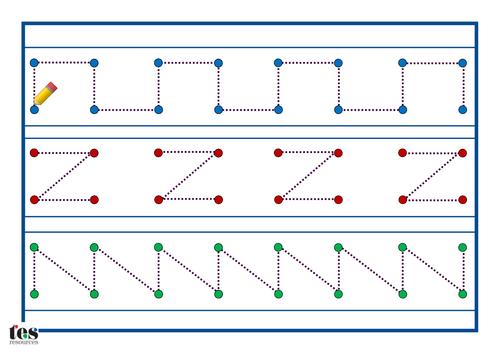 Pattern Handwriting Worksheets Mattawa