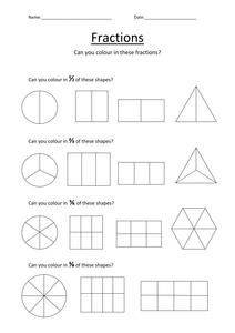 new 741 fraction worksheet tes fraction worksheet. Black Bedroom Furniture Sets. Home Design Ideas