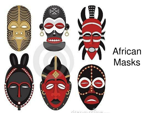 african masks powerpoint fact sheet by elasticbandy teaching resources tes