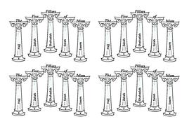 Islam - The Five Pillars Worksheet 2019.docx
