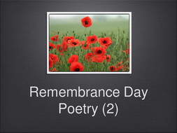 Remembrance-Day-Famous-Poems-.ppt