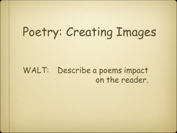 Vocabulary Poems with Similes and Metaphors.ppt