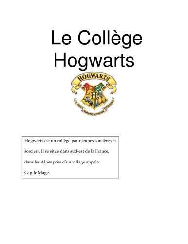 Hogwarts / Harry Potter Activity KS3 by Ambroise